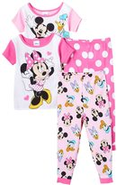 Disney Disney's Minnie Mouse Minnie & Friends Toddler Girl 4-pc. Pajama Set