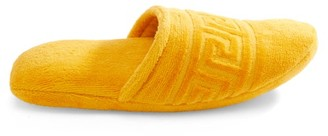 Versace Medusa Cotton-terry Slippers - Mens - Gold