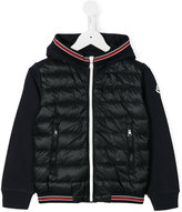 Moncler zip up padded jacket - kids - Cotton/Polyamide - 5 yrs
