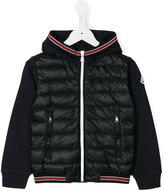Moncler zip up padded jacket