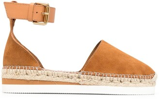 See by Chloe Ankle-Strap Espadrilles