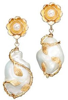 OF RARE ORIGIN Power Pearl Drop Earrings