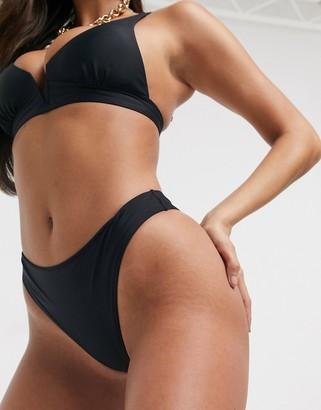 Swim Society Sydney bikini bottom in black