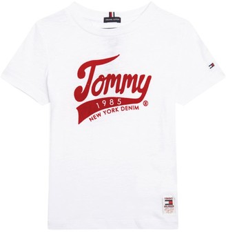 Tommy Hilfiger Junior Cotton 1985 Logo T-Shirt