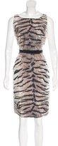 Giambattista Valli Silk-Blend Printed Dress
