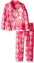 Barbie Little Girls' Coat Set