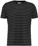 Soulland Fernell Print Tshirt Black/white