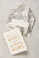 Anthropologie Hugs & Kisses Card