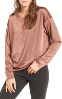 Socialite Women's Metallic Pullover
