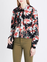 Rag & Bone Verna floral long-sleeved pure-cotton top