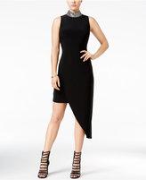 B. Darlin Juniors' Embellished Asymmetrical Dress