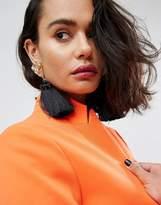 Asos Statement Nugget Tassel Earrings