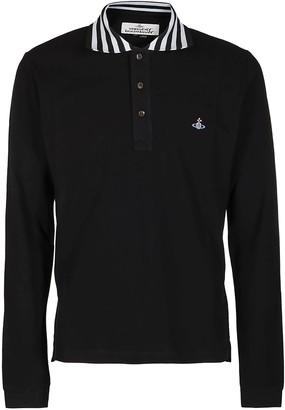 Vivienne Westwood Black Cotton Polo Shirt