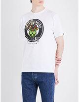 A Bathing Ape X Alien Milo Cotton-jersey T-shirt