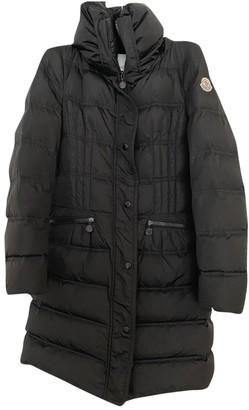 Moncler Long Black Polyester Coats
