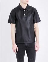 Kenzo Leather polo shirt