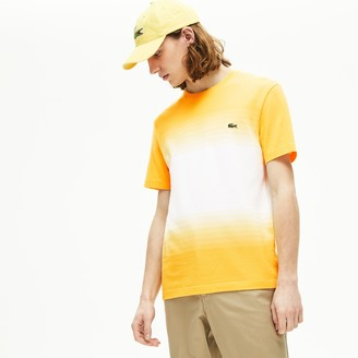 Lacoste Men's Made in France Cotton Pique Cotton Crew Neck T-shirt