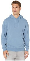 J.Crew Garment-Dyed French Terry Hoodie (Dusty Sea) Men's Clothing