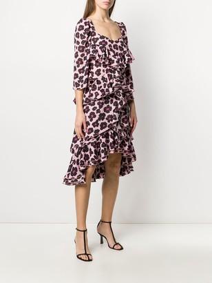 La DoubleJ Sissi leopard print dress