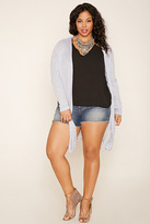 Forever 21 FOREVER 21+ Plus Size Ribbed Knit Cardigan