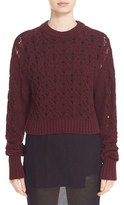 Public School Women's Cotton Blend Cable Knit Sweater