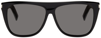 Saint Laurent Black Mask SL 1 Sunglasses