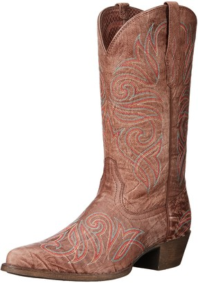 Ariat Women's Round Up J Toe Western Cowboy Boot