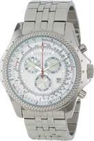 Akribos XXIV Men's AK517WT Ultimate Large Chronograph Bracelet Watch