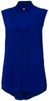 Joseph Sleeveless blue top.