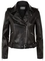 Claudie Pierlot Classic Leather Jacket
