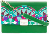 Emilio Pucci colourful design shoulder bag