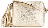 Anya Hindmarch Smiley crossbody bag - women - Lamb Skin/Suede - One Size