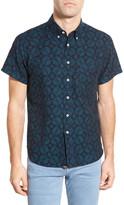 Billy Reid Tuscumbia Standard Fit Short Sleeve Printed Shirt