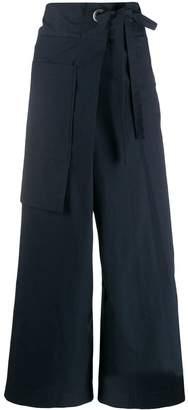 Ujoh side-tie trousers