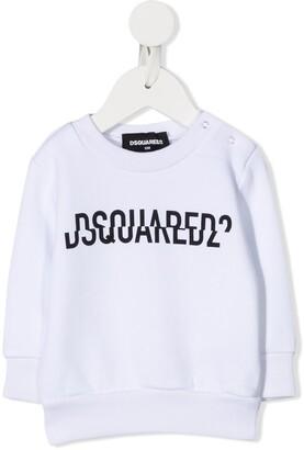 DSQUARED2 Split Logo Print Sweatshirt
