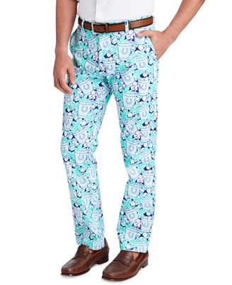 Vineyard Vines Iced Mint Julep Breaker Pants