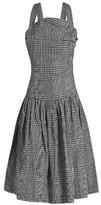 Vivienne Westwood Hali checked taffeta dress