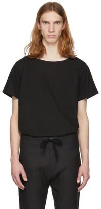 Jan Jan Van Essche Jan-Jan Van Essche Black Cotton T-Shirt
