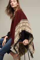 Anthropologie Textured Mada Kimono