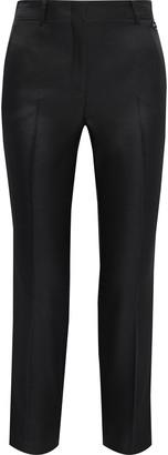 Emilio Pucci Cropped Wool And Silk-blend Gabardine Slim-leg Pants
