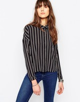Only Pape Long Sleeve Stripe Shirt