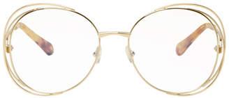 Chloé Gold Carlina Glasses
