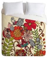 DENY Designs Valentina Ramos Spring Garden Duvet Queen Red
