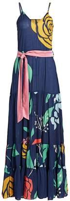 Carolina K. Julia Floral Maxi Dress