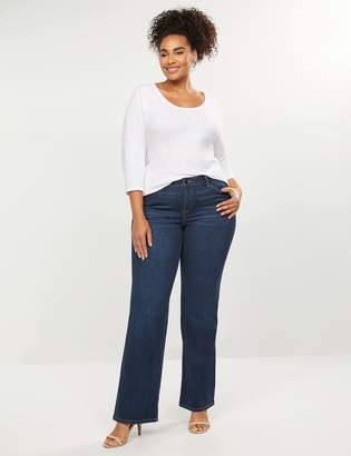 Lane Bryant Signature Fit Boot Jean with Reinforced Inner Thighs