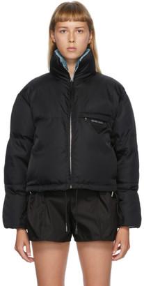 Prada Black Recycled Nylon Down Jacket