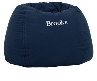 Pottery Barn Teen Navy Washed Twill Bean Bag Chair