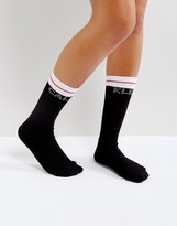 Calvin Klein Moder Cotton Logo Short Sock