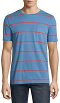 Arizona Short Sleeve Stripe Pocket T-Shirt
