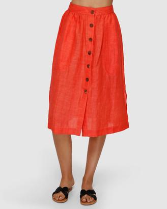 Billabong Alhambra Midi Skirt